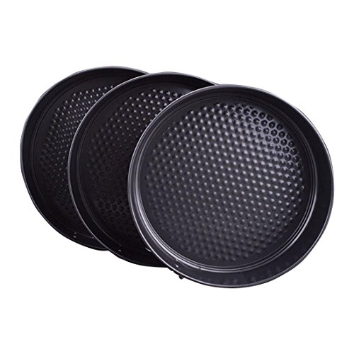 Round Springform Cake Pan Set,Cake Pan,Cheesecake Pan,Nonstick Bakeware,Set of 3