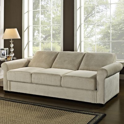 Serta Dream Convertible Thomas Sofa Light Brown