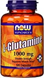 NOW Foods L-Glutamine 1,000 mg Caps, 120 ct