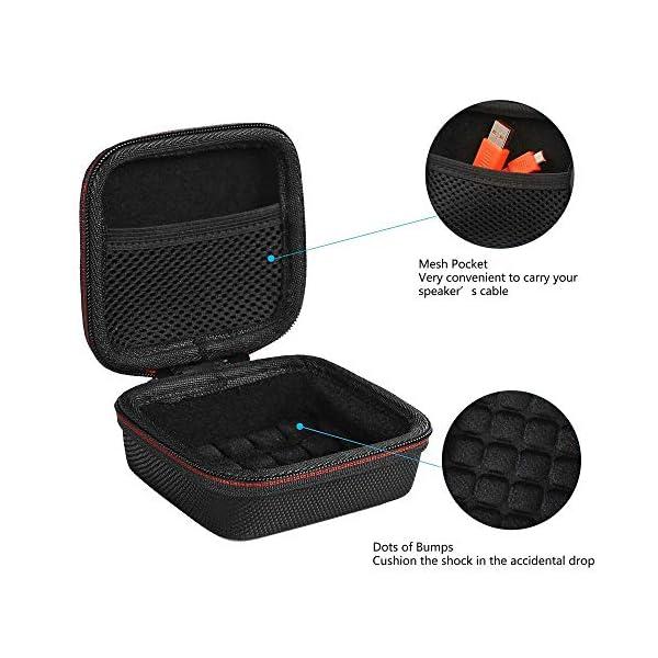 Pushingbest Coque pour JBL Go 2, 2 avec Eva et TPU pour Votre Haut-Parleur JBL Go 2 Bluetooth 5
