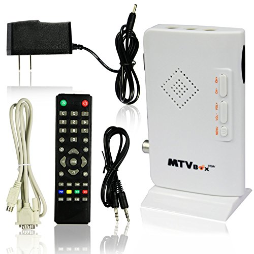 - ESUMIC? Digital TV Box LCD/CRT VGA/AV Stick Tuner Box View Receiver Converter