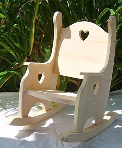Children's Rocking Chair, Unfinished