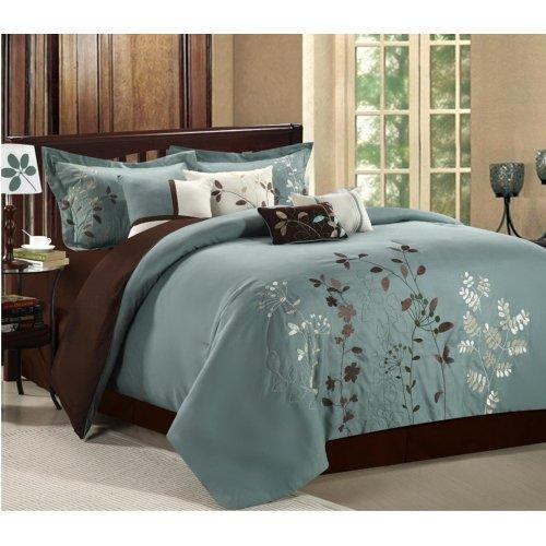 prom comforter set queen sage