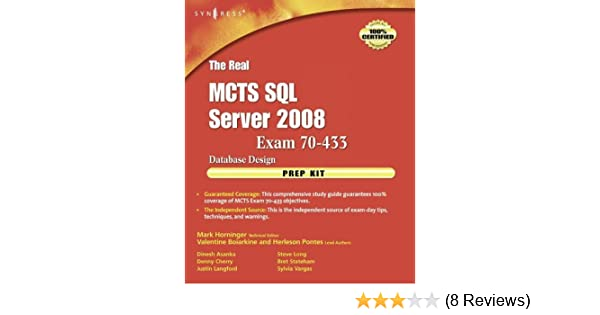 Mcts exam 70 433 pdf download