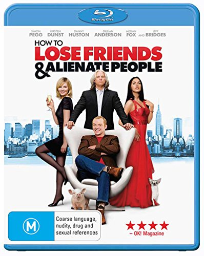 How to Lose Friends and Alienate People Blu-ray