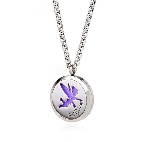 Amazoncom Essential Oil Diffuser Necklace Jewelry Stainless Steel