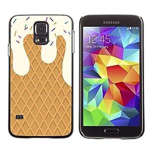 For SAMSUNG Galaxy S5 V / i9600 / SM-G900 Case , Bianco - Diseño Patrón Teléfono Caso Cubierta Case Bumper Duro Protección Case Cover Funda