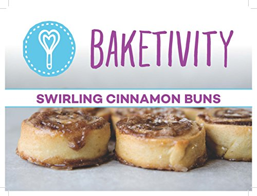 Baketivity Kids Baking Set, Meal Cooking Party Supply Kit for Teens, Real Fun Little Junior Chef Essential Kitchen Lessons, Includes Pre-Measured Ingredients, Cinnamon Buns by Baketivity (Image #2)'