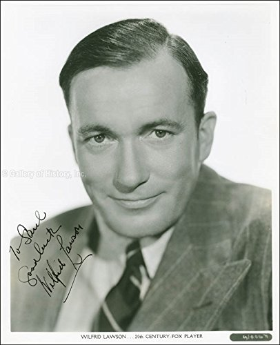 Wilfrid Lawson - Inscribed Photograph Signed Circa 1937