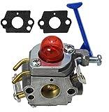 Image of LotFancy Carburetor for Husqvarna Poulan 124L 125L 125LD 128C 128L 128LD 128R 128RJ 128LDX 545081848 545130001, Zama C1Q-W40A