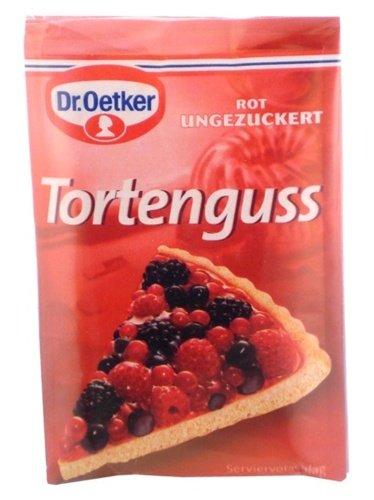 - Dr. Oetker Tortenguss Rot (Red Cake Glaze )- 3 pack