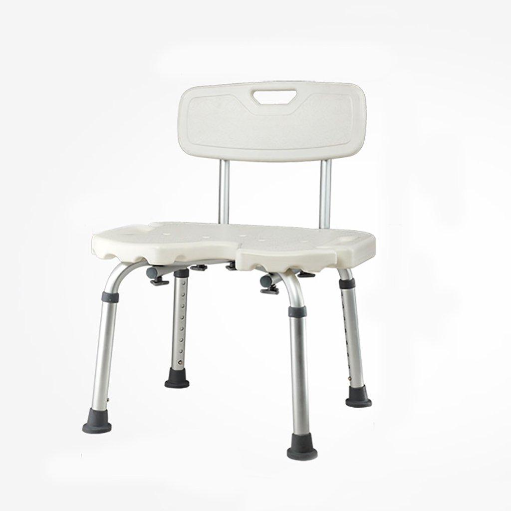 バスルームスツール高齢者、妊婦バスケースバスルーム、自宅の患者バスチェアThicken Non-slip錆びない B07DYHH18B