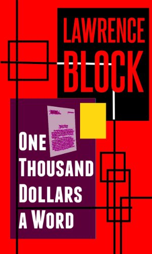 book cover of One Thousand Dollars a Word