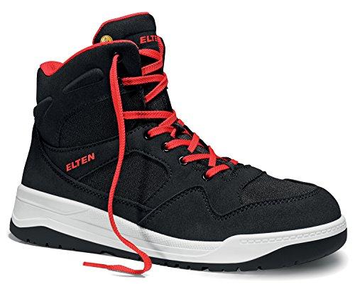 Elten Maverick Black Sicherheitsschuhe S1P, Farbe:schwarz;Schuhgröße:41 (UK 7)