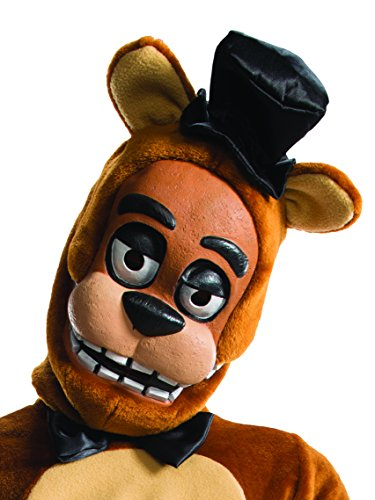 Rubie's Costume Boys Five Nights at Freddy's Fazbear 3/4 Mask Costume, One Size