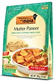 Kitchens of India Ready to Eat Mutter Paneer, Green Peas and Cottage Cheese Curry, 10-Ounces (Pack of 6)