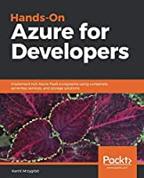 Hands-On Azure for Developers Front Cover