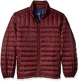 Tommy Hilfiger Men's Packable Down Jacket (Regular and Big & Tall Sizes), Merlot, 3X BIG