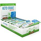 Zenwise Health, Keto Crave Energy Bar, Cacao Almond, 12 pack
