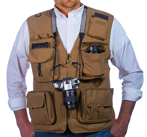 Fly fishing photography climbing vest with 16 pockets made for Lightweight fishing pants