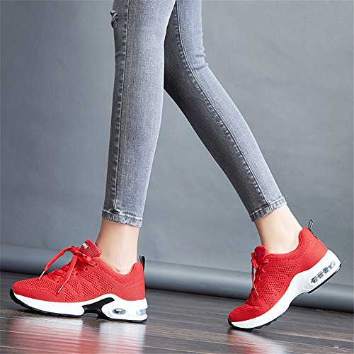 Sneakers Eu Running Course Mimiyaya Homme Sports Baskets Femme Air Fitness Rouge De 44 Sport Chaussure Gym 34 ZpHZ7wq