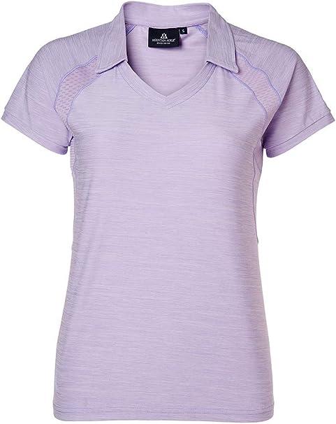 Mountain Horse Bright - Camiseta de Manga Corta para Mujer, Color Lila, Large: Amazon.es: Deportes y aire libre