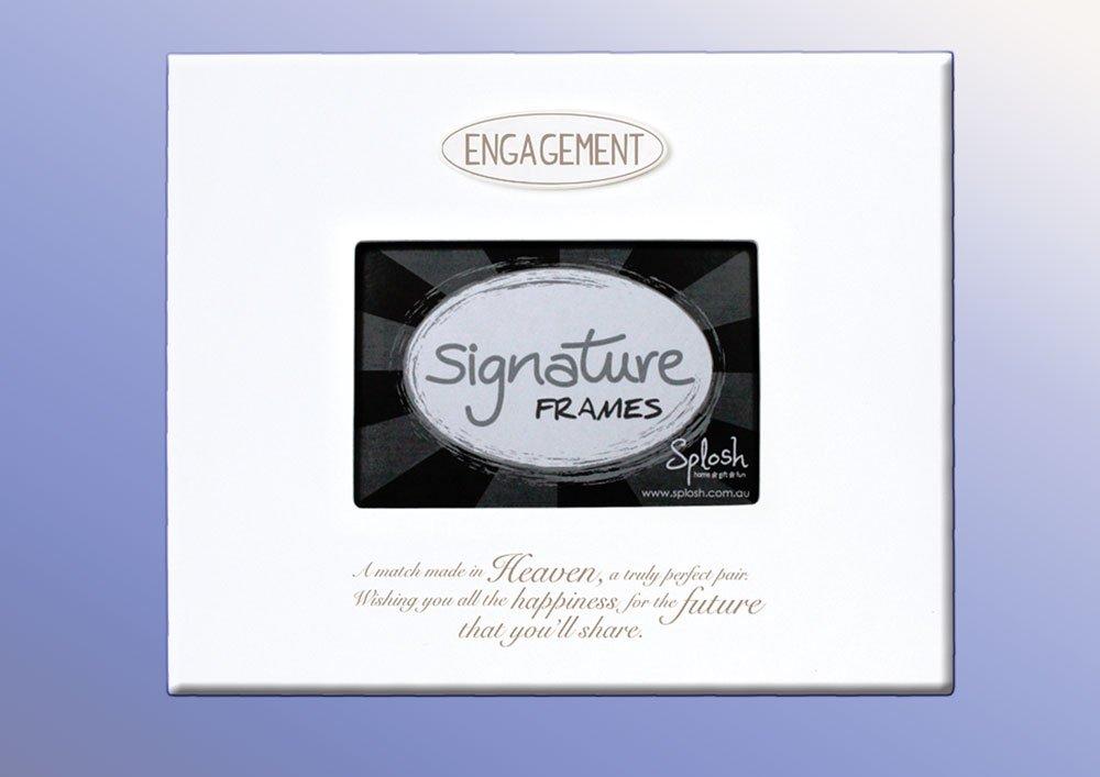 Splosh Engagement Signature Frame: Amazon.co.uk: Kitchen & Home