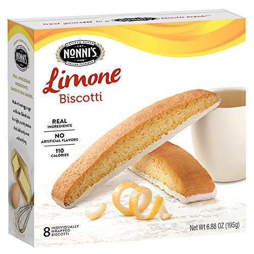 Lemon Recipe Wine - Nonni's Biscotti, Limone, 8 Count, 6.88 Ounce
