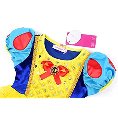 JerrisApparel Girl Classic Princess Costume Fancy Dress for Christmas: Clothing