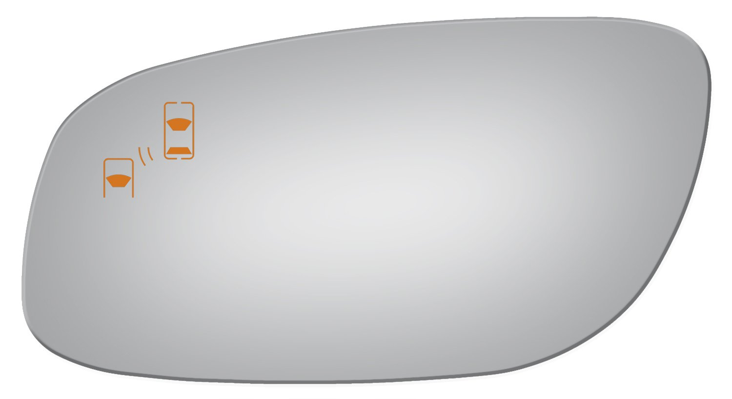 Amazon.com: Burco 4311B Driver Side Power Replacement Mirror Glass with Lasered Holes to use with Factory Blind Spot Detector for 2010-2017 FORD TAURUS: ...
