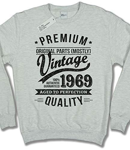Vintage Felpa Di Chiaro 50 Uomo Grigio 1969 Compleanno To My Anni Aged Per Regalo Year Da Generation Perfection Gifts 6qxywUgCtA