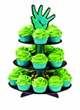Wilton 1512-0855 Halloween Zombie Cupcake Stand, 1 Count