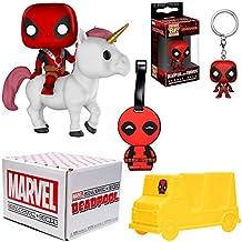 Funko Marvel Collector Corps suscripción box-deadpool tema, Julio, multicolor
