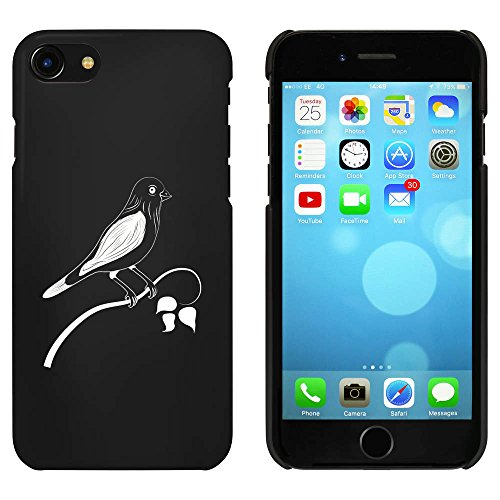 Noir 'Oiseau Perché' étui / housse pour iPhone 7 (MC00072683)