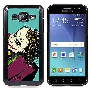 """Planetar ( Aseo Verde luz de neón Tazón"""" ) Samsung Galaxy J2 / J200 Fundas Cover Cubre Hard Case Cover"""