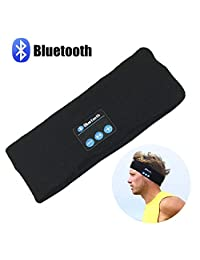 Bluetooth Music Headband, LC-dolida Wireless Sport Headband Stereo Headset Sport Headband Running Yoga