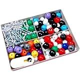 240 pcs | Modèle moléculaire | Chimie organique et inorganique | Atom scientifique chimie moléculaire modèles liens enseignement Kit Set by CASCACAVELLE