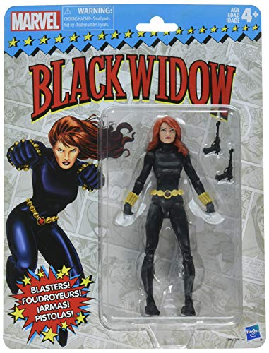 Marvel Retro 6-inch Collection Black Widow Figure]()