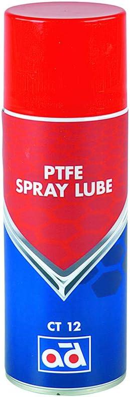 Ad Chemie Ptfe Spray Lube 400ml Ct12 Spraydose Ideal Für Bewegliche Teile Mit Hoher Belastung Spray Teflon Teflonspray Fett Druckluft Schmiermittel Kältespray Rostschutz Trockenschmierstoff 406062950 Auto