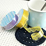 Culturemart Lace Sticky Paper SELF Adhesive Washi