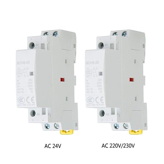 2P 20A 220V 230V 50 60HZ Contattore domestico per uso domestico\\