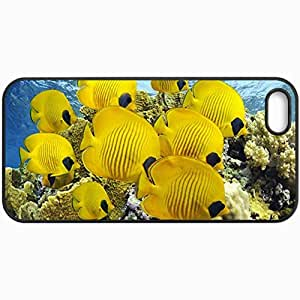 Fashion Unique Design Protective Cellphone Back Cover Case For iPhone 5 5S Case Fish Black