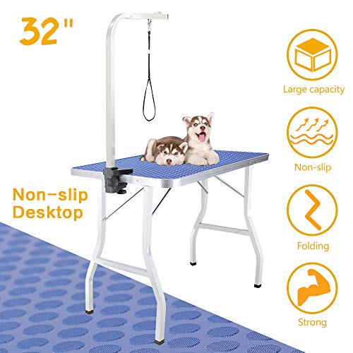 Royale Foldable Pet Dog Grooming Table, 32