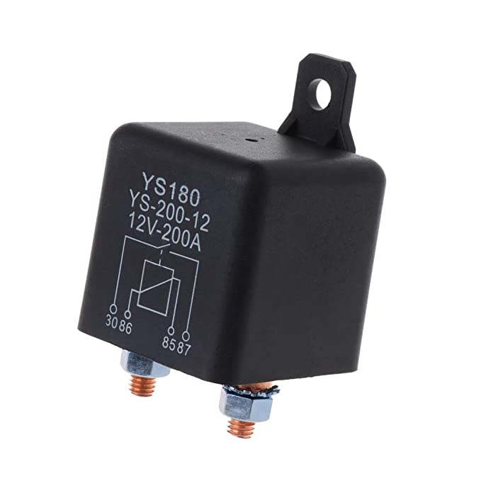 YoungerY 1pc YS180-200A Kfz-Relais