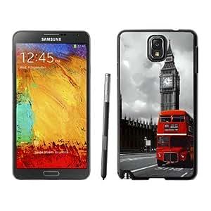 BINGO cheap price London Red Bus Samsung Galaxy Note 3 Case Black Cover