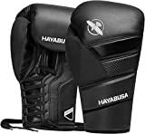 Hayabusa T3 Lace Boxing Gloves - Black, 14
