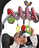 mobile baby activity center - Zcargel Baby Rattles Educational Toys, Baby Crib Stroller Hanging Bell Decorations Comfort Plush Toys, Bed Around/Stroller Hanging Bell/Rattle Mobile Musical Toy Gift for Children Kids