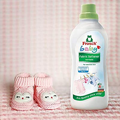 Frosch Baby Natural Liquid Fabric Softener for Sensitive Skin, 25.36 fl oz