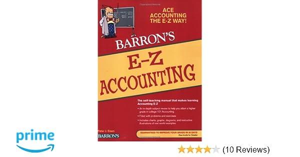 Amazon e z accounting barrons e z series 9780764142567 amazon e z accounting barrons e z series 9780764142567 peter eisen books fandeluxe Choice Image