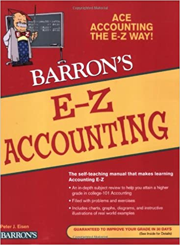 Amazon e z accounting barrons e z series 9780764142567 e z accounting barrons e z series 5th edition fandeluxe Image collections